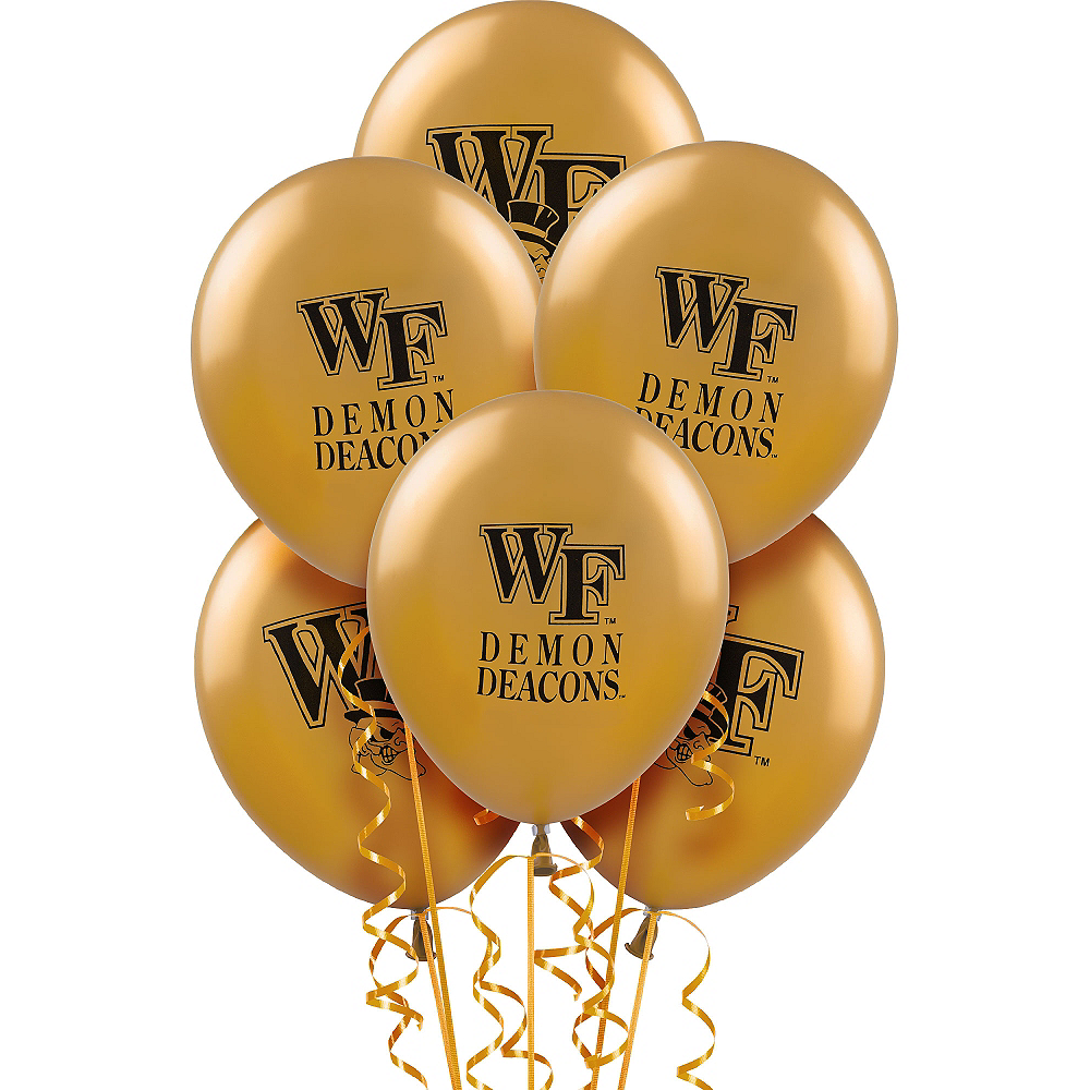 Wake Forest Demon Deacons Balloons 10ct Image #1