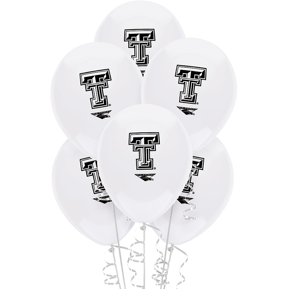 Texas Tech Red Raiders Balloons 10ct Image #1