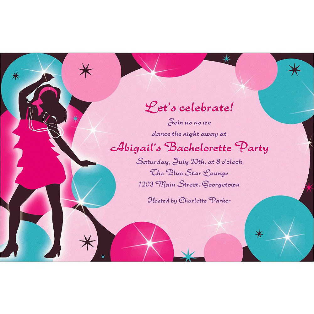 Custom Girl's Night Out Invitations Image #1