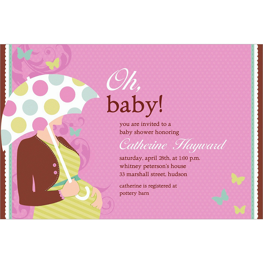 Custom Great Expectations Baby Shower Invitations  Image #1