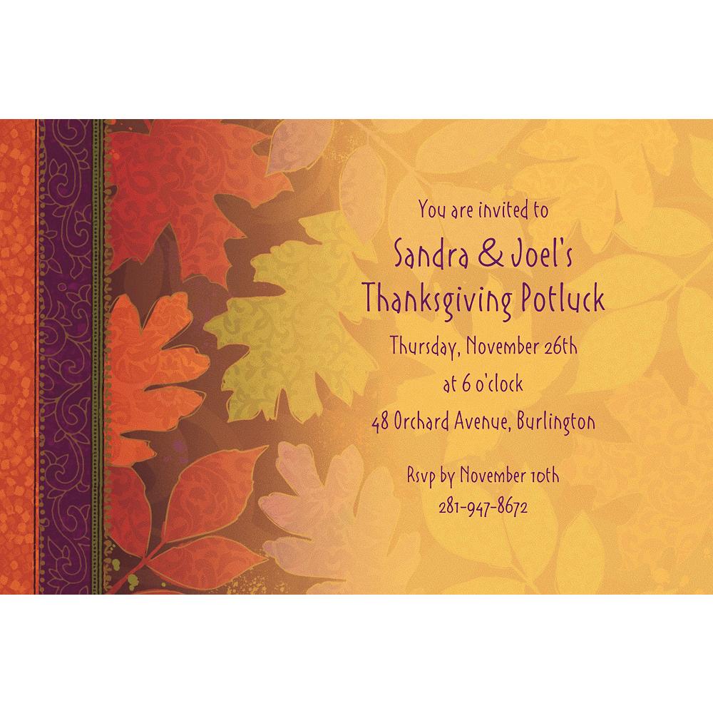 Custom Fall Forward Invitations Image #1
