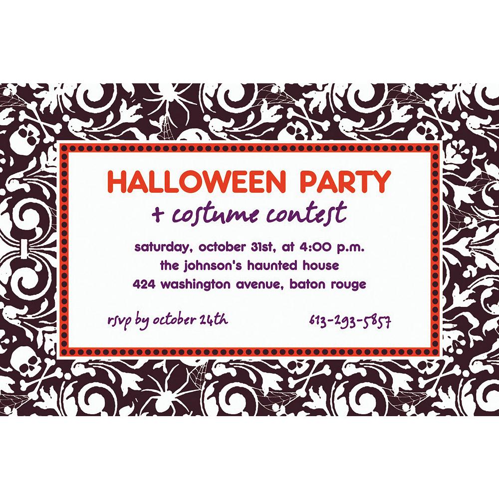 Custom Shocktails Halloween Invitations Image #1
