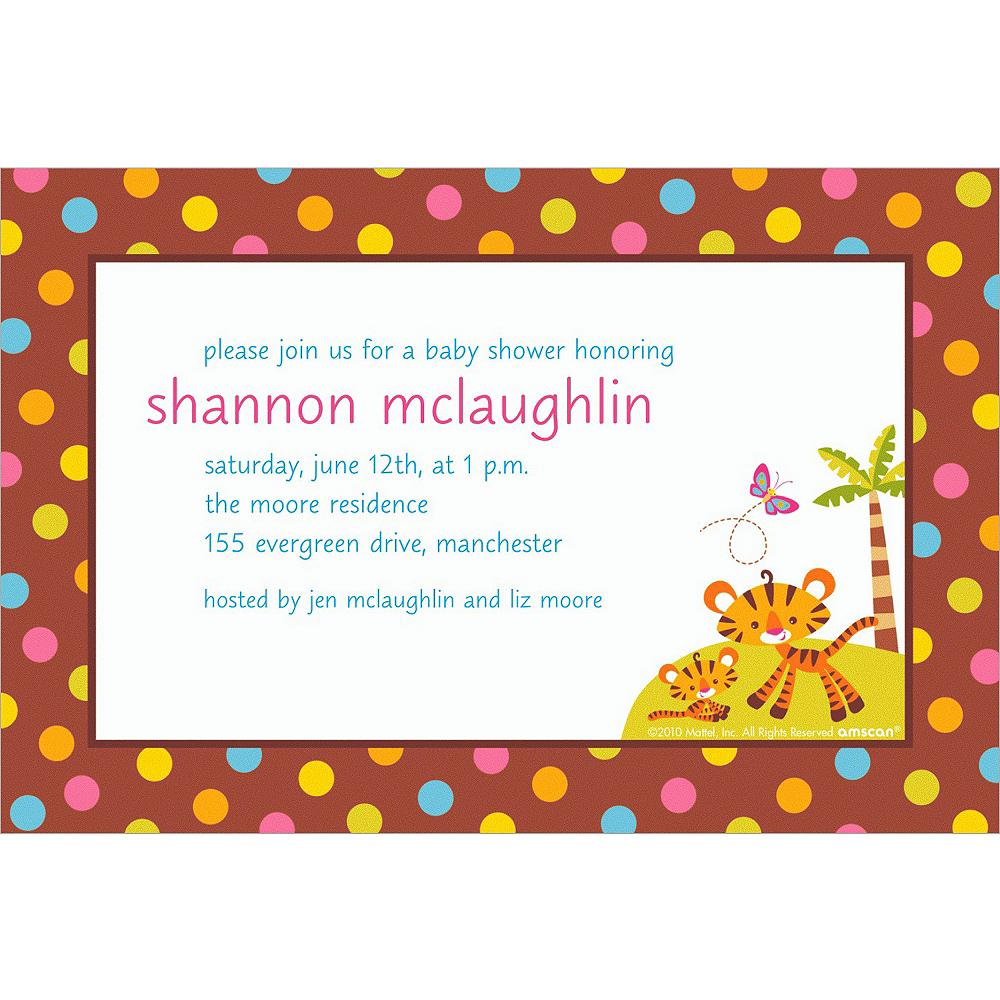 Custom fisher price baby shower invitations party city custom fisher price baby shower invitations filmwisefo