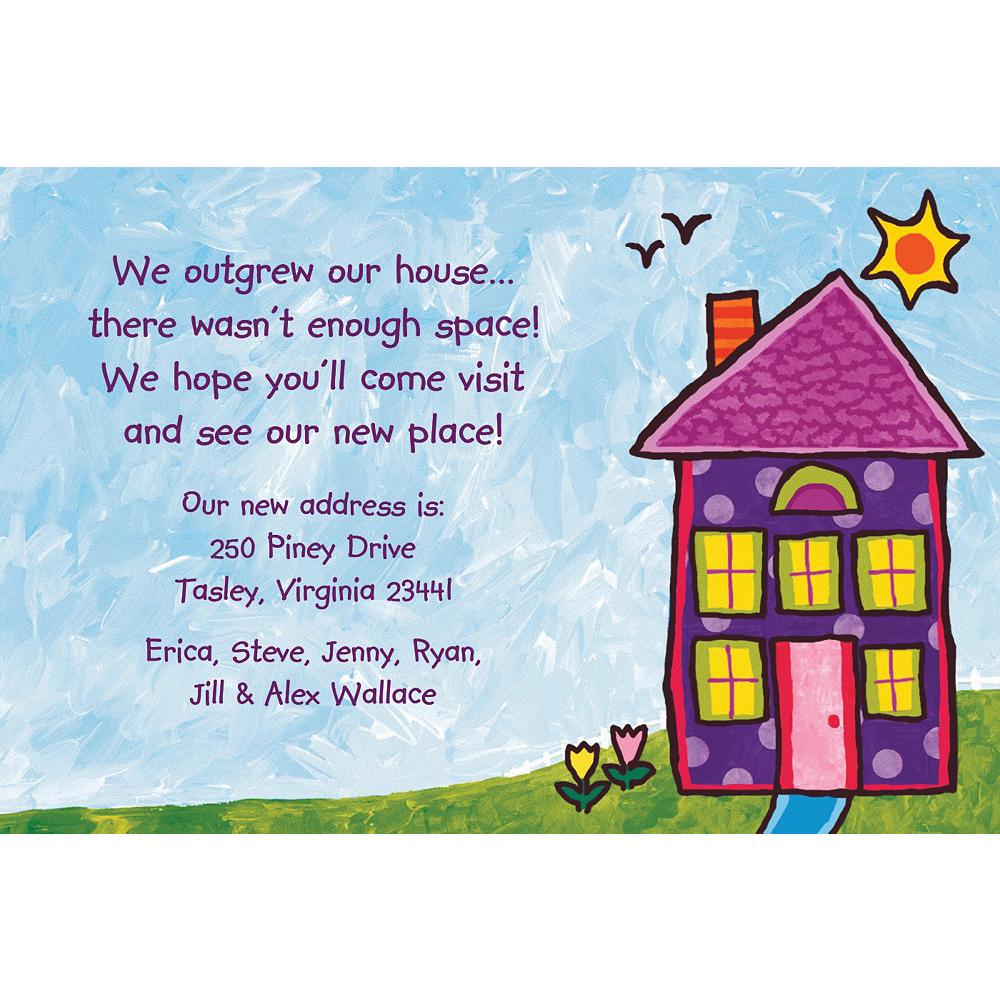 Custom House Painting Housewarming Invitations Image #1