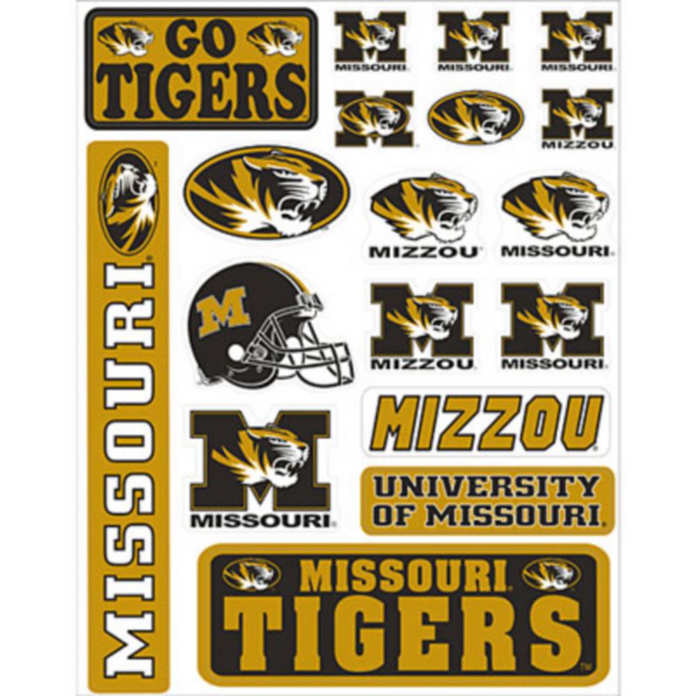 Missouri Tigers Decals 18ct Image #1