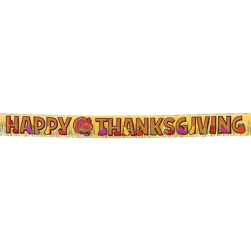 Thanksgiving Fringe Letter Banner Image #1