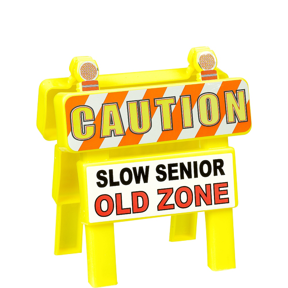 Mini Old Zone Caution Sign Image #1
