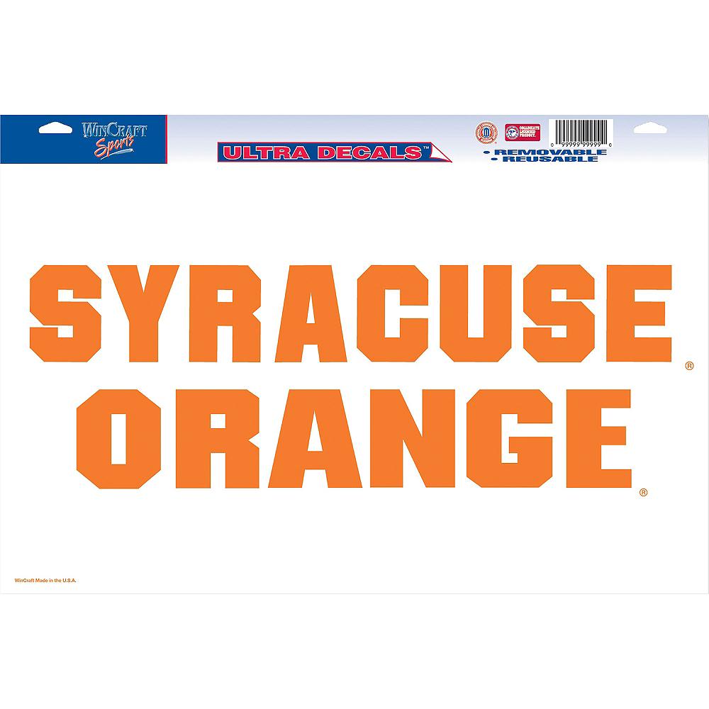 Syracuse Orange Decal Image #1
