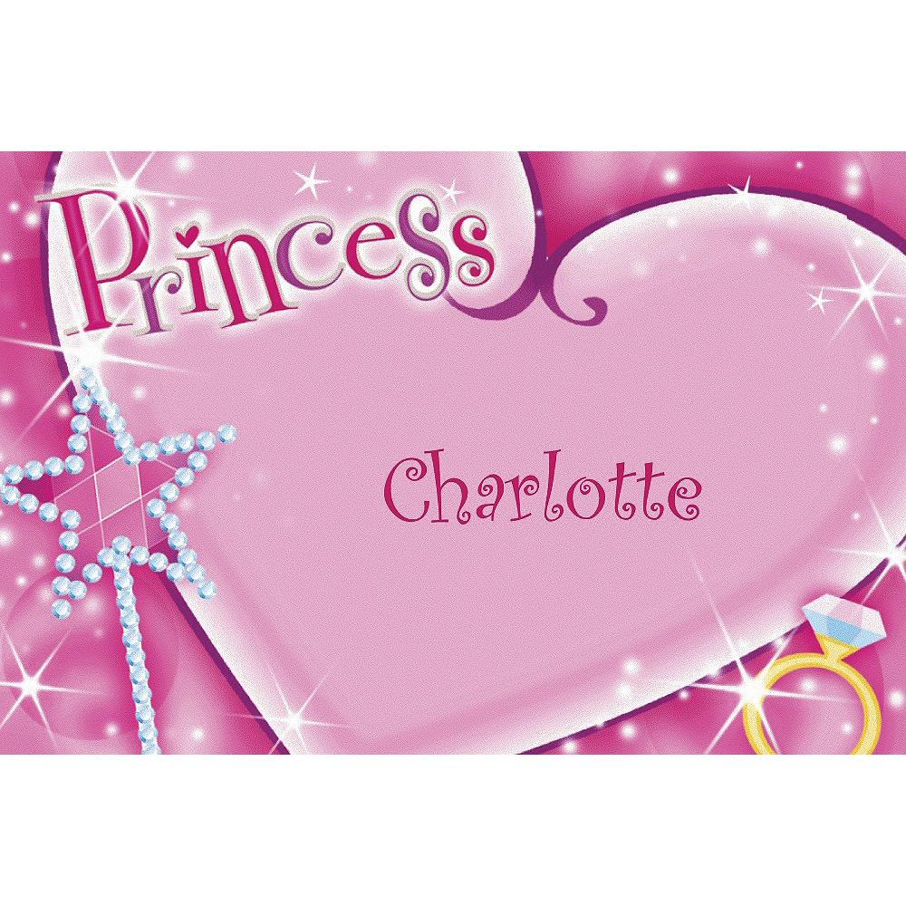 Custom Princess Thank You Notes Image #1