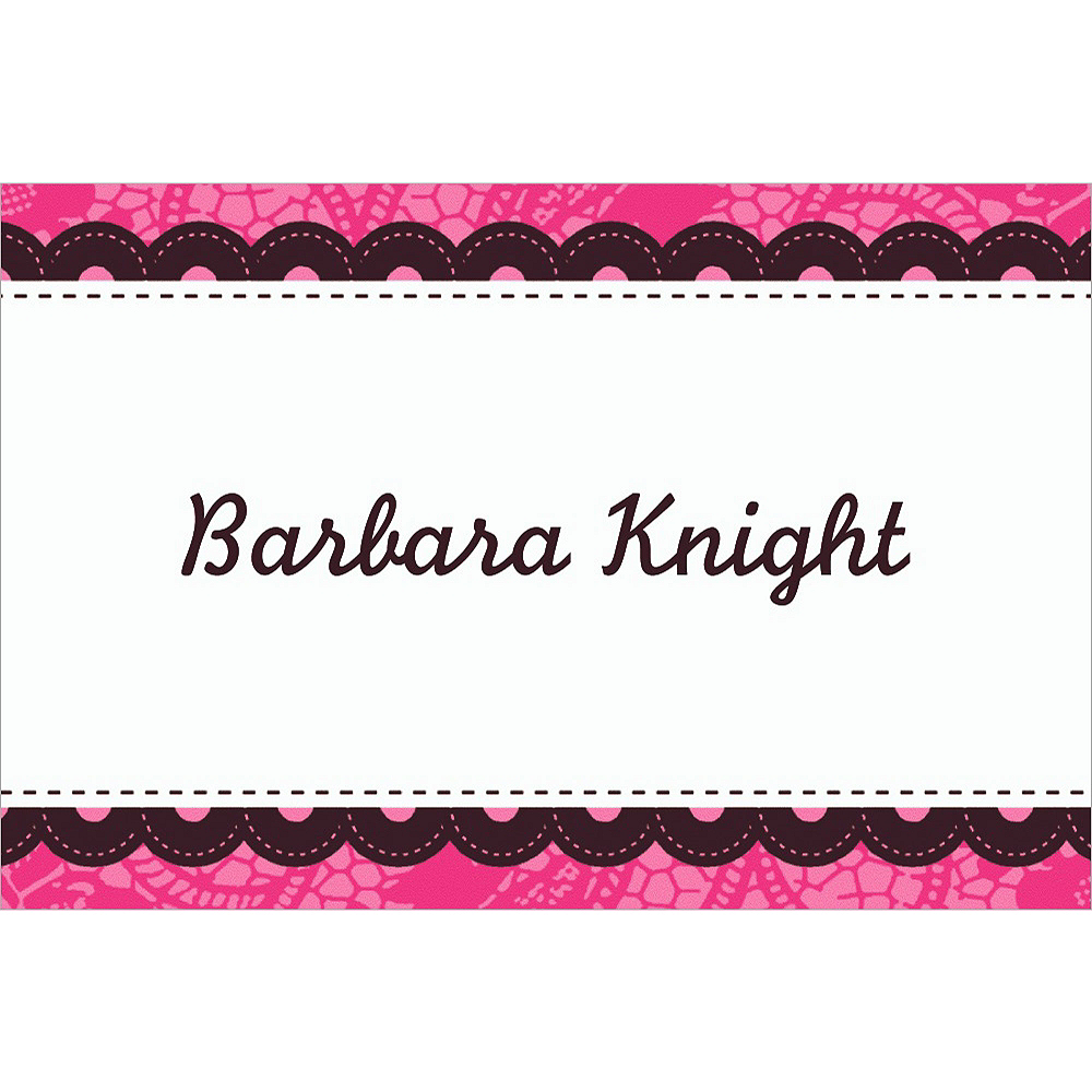 Custom Bachelorette Party Thank You Notes Image #1