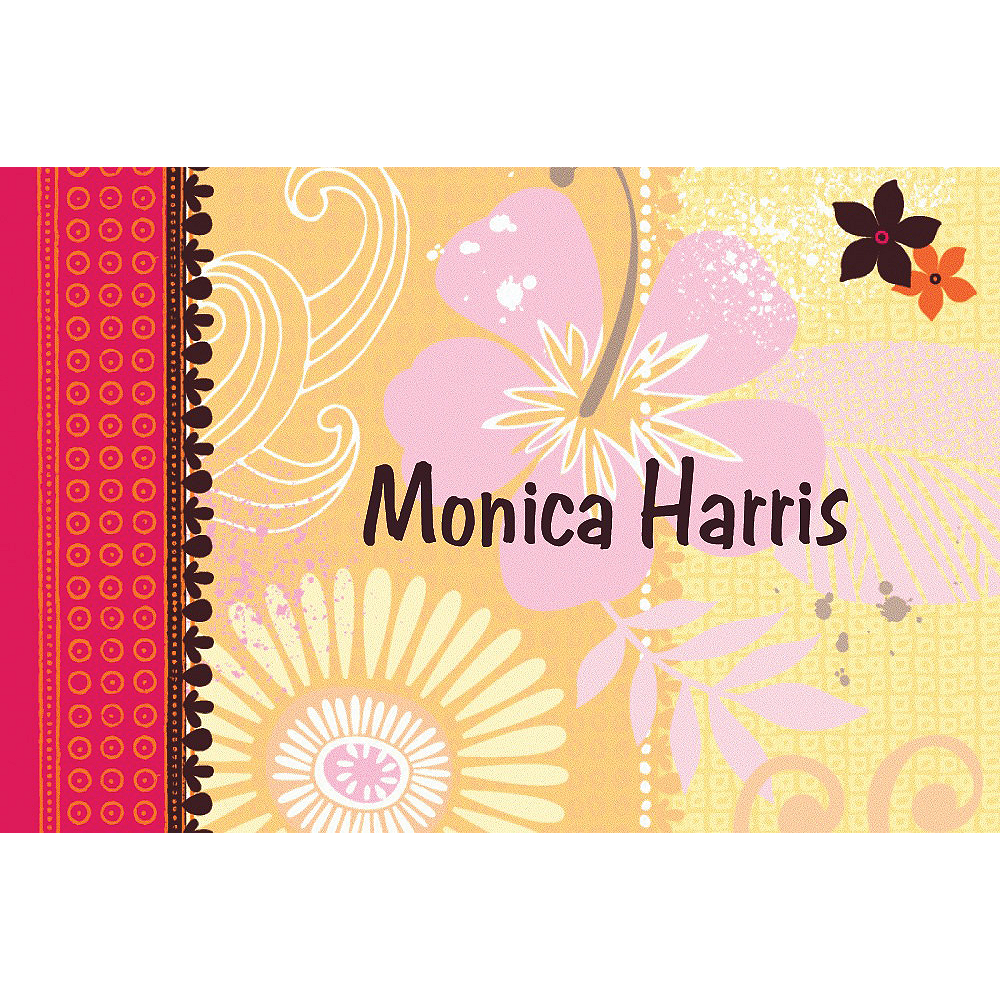 Custom Tropical Heat Thank You Notes Image #1