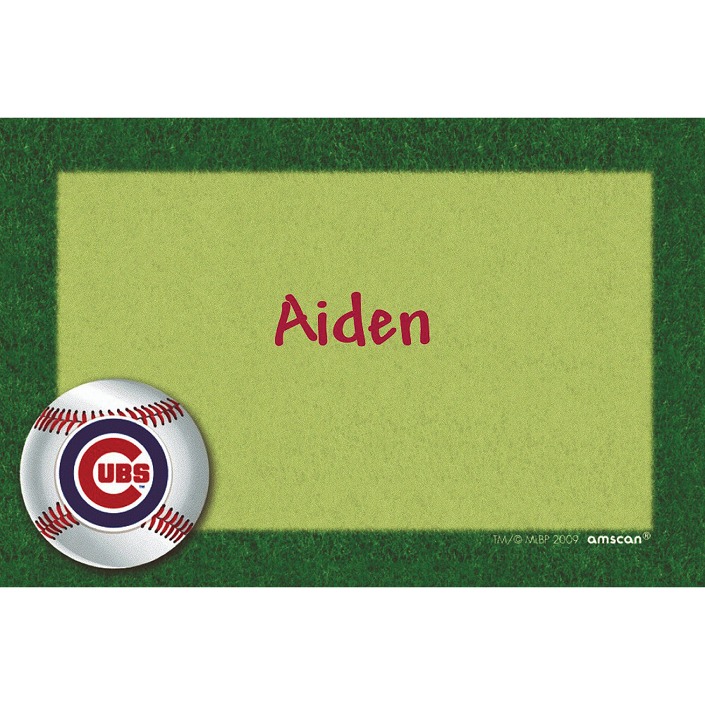 Custom Chicago Cubs Thank You Notes Image #1