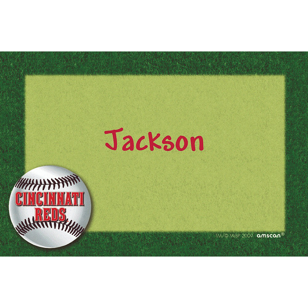 Custom Cincinnati Reds Thank You Notes  Image #1