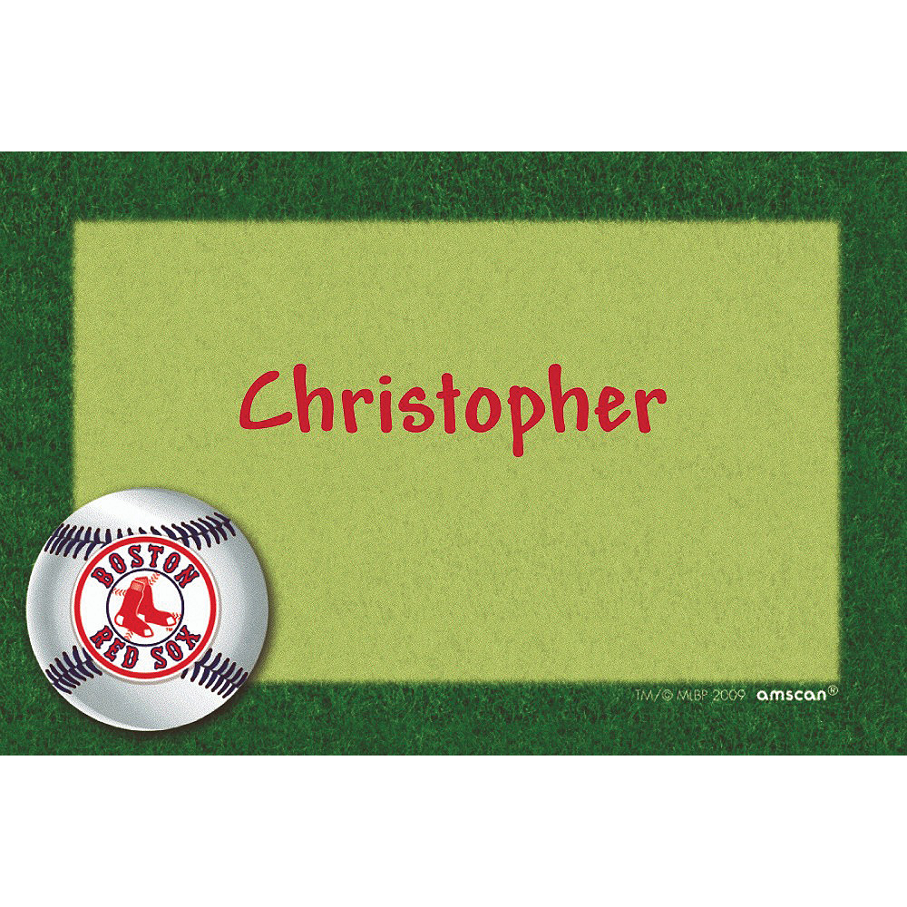 Custom Boston Red Sox Thank You Notes Image #1