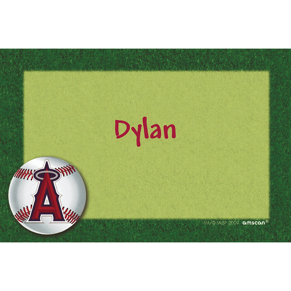 Custom Los Angeles Angels Thank You Notes Image #1