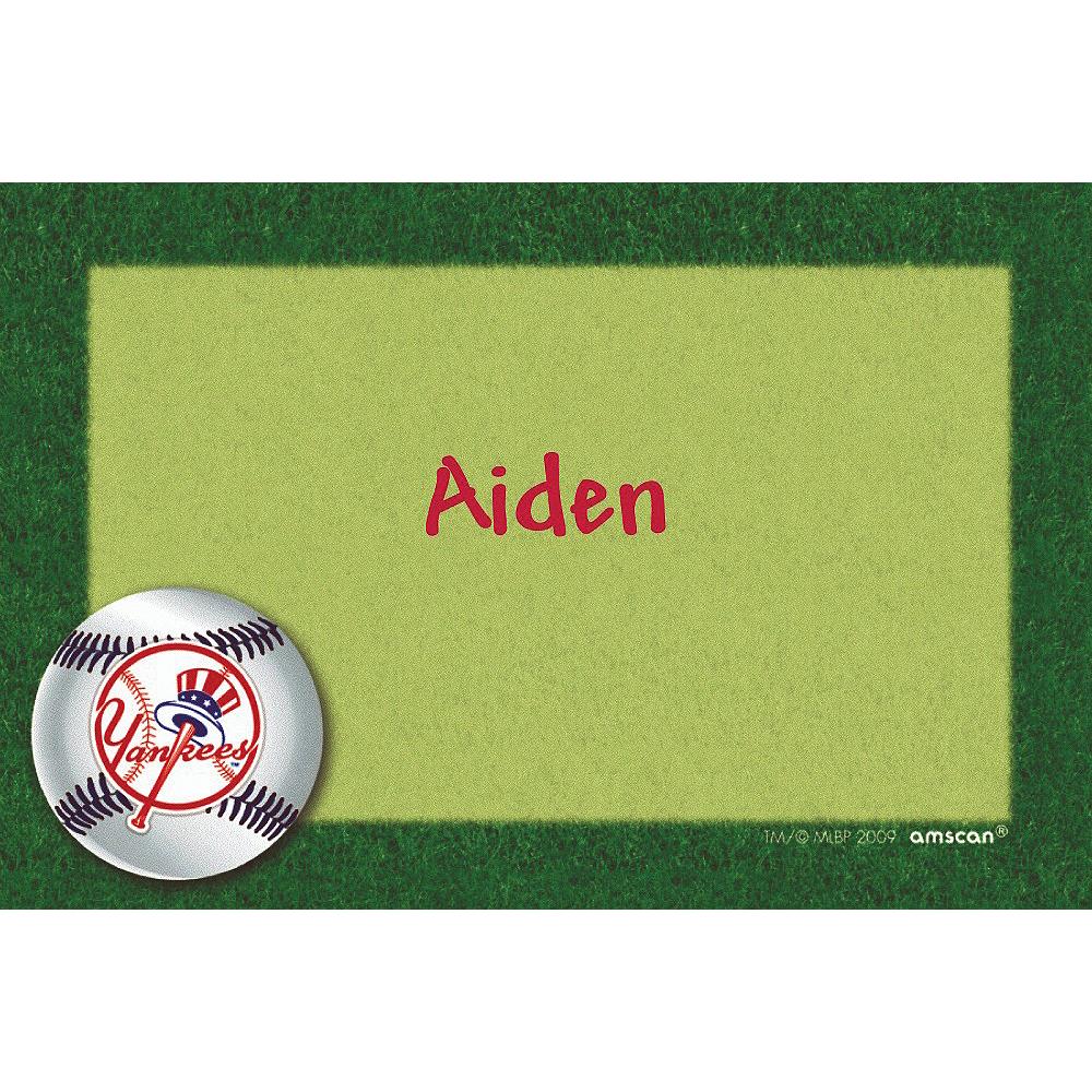 Custom New York Yankees Thank You Notes Image #1