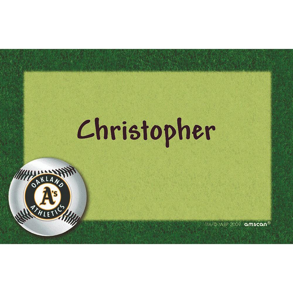 Custom Oakland Athletics Thank You Notes Image #1