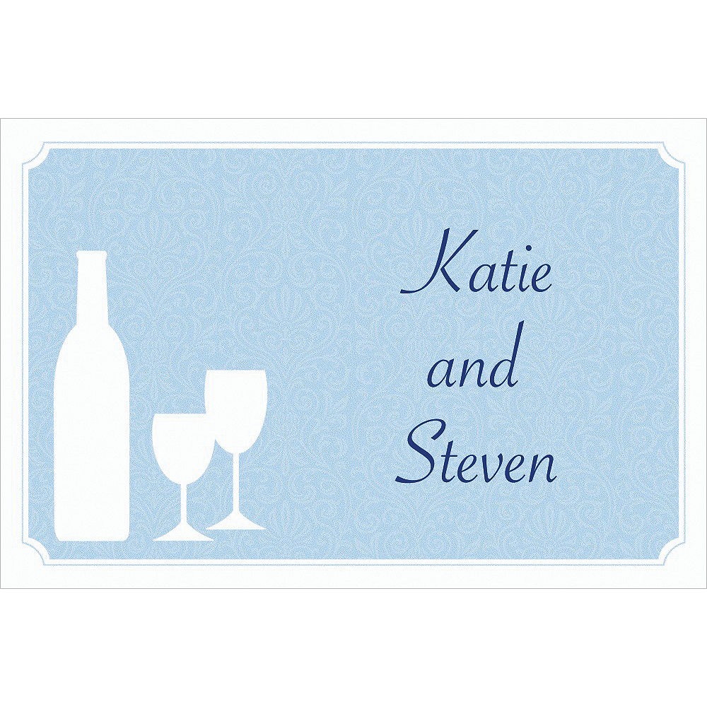 Custom Vino for Two Thank You Notes  Image #1