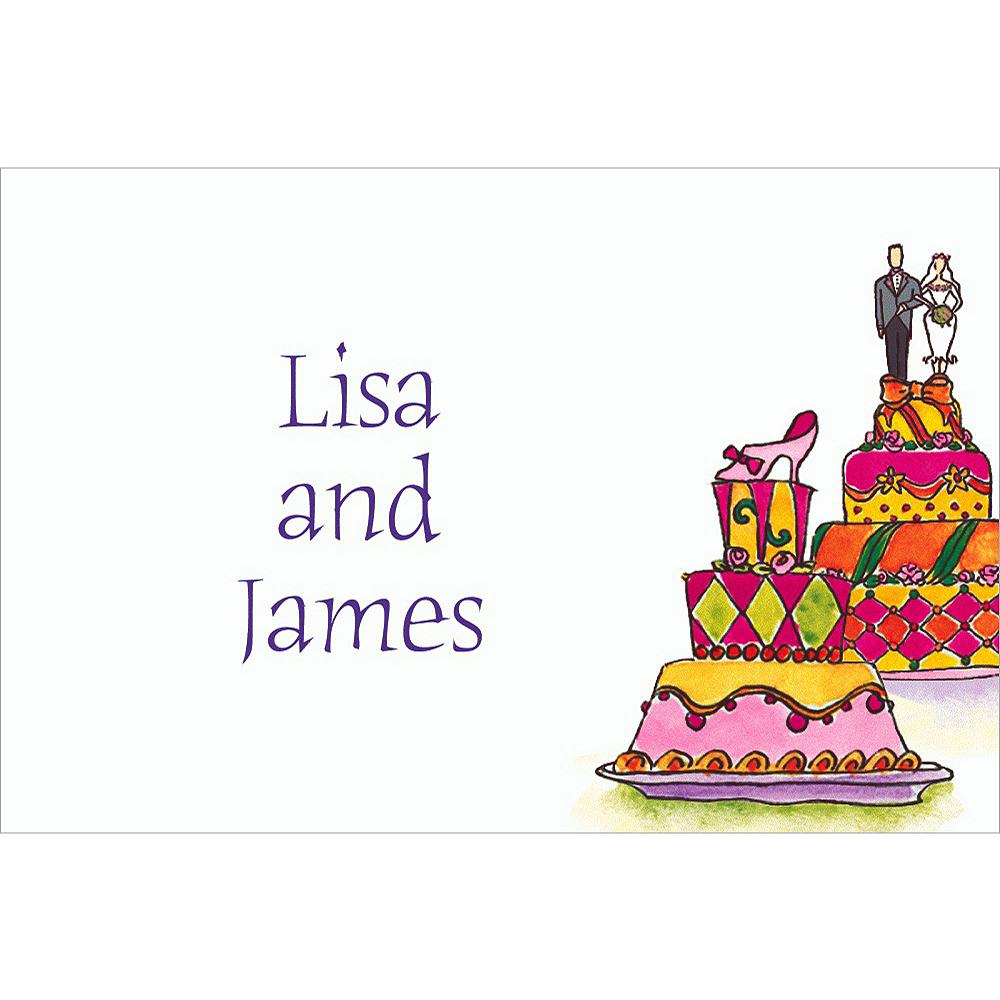 Custom Wacky Wedding Cakes Wedding Thank You Notes Image #1