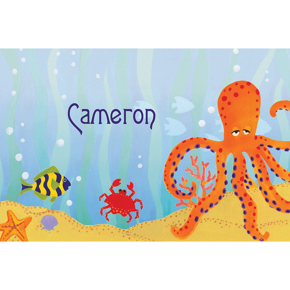 Custom Under the Ocean Thank You Notes Image #1