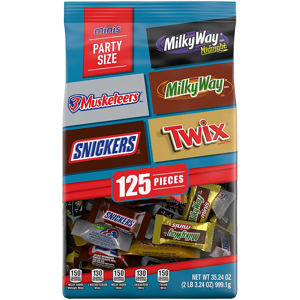 Mars Chocolate Minis Mix 130pc Image #1