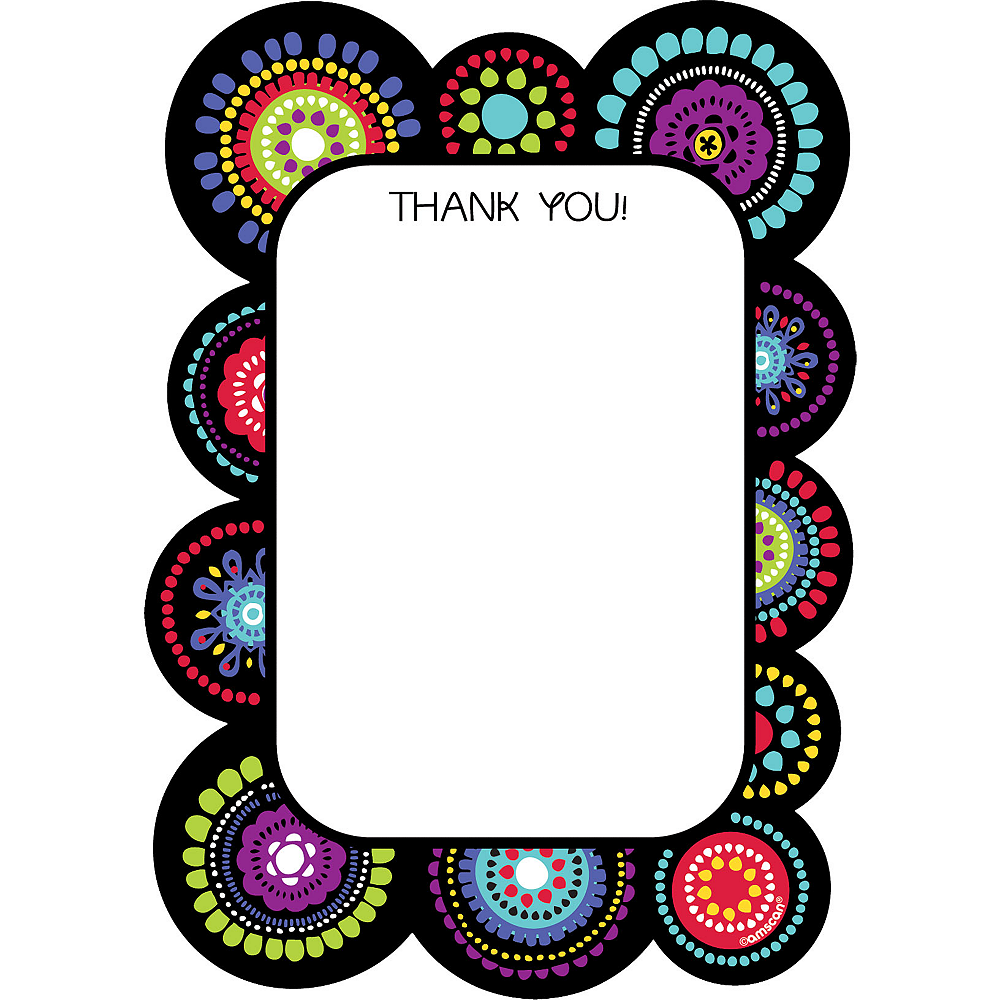 Graphic Fun Thank You Notes 20ct Image #1