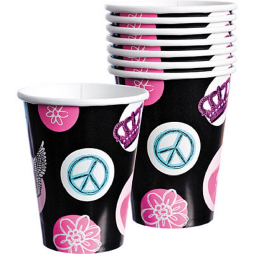 Rocker Princess Cups 8ct Image #1