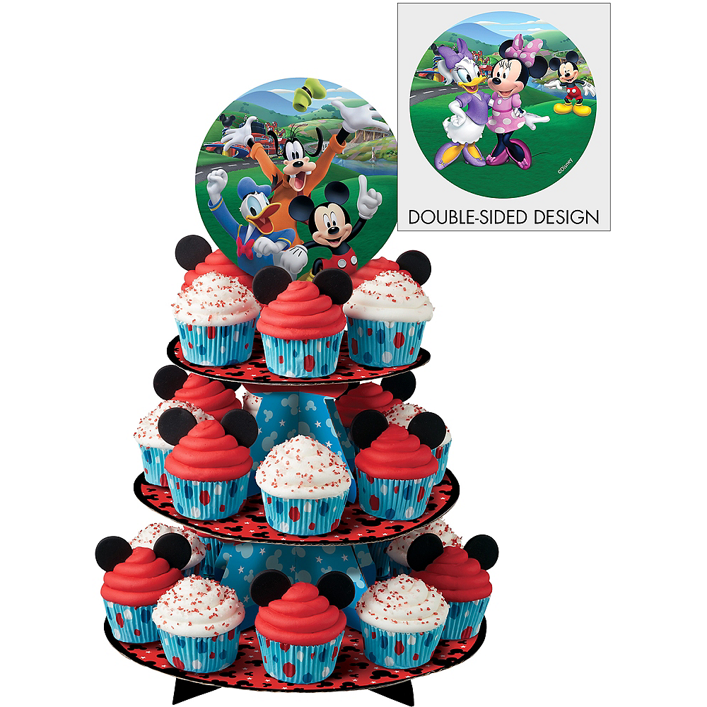 Wilton Mickey & the Roadster Racers Cupcake Stand Image #1