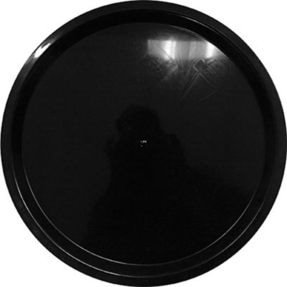 Black Plastic Platter Image #1