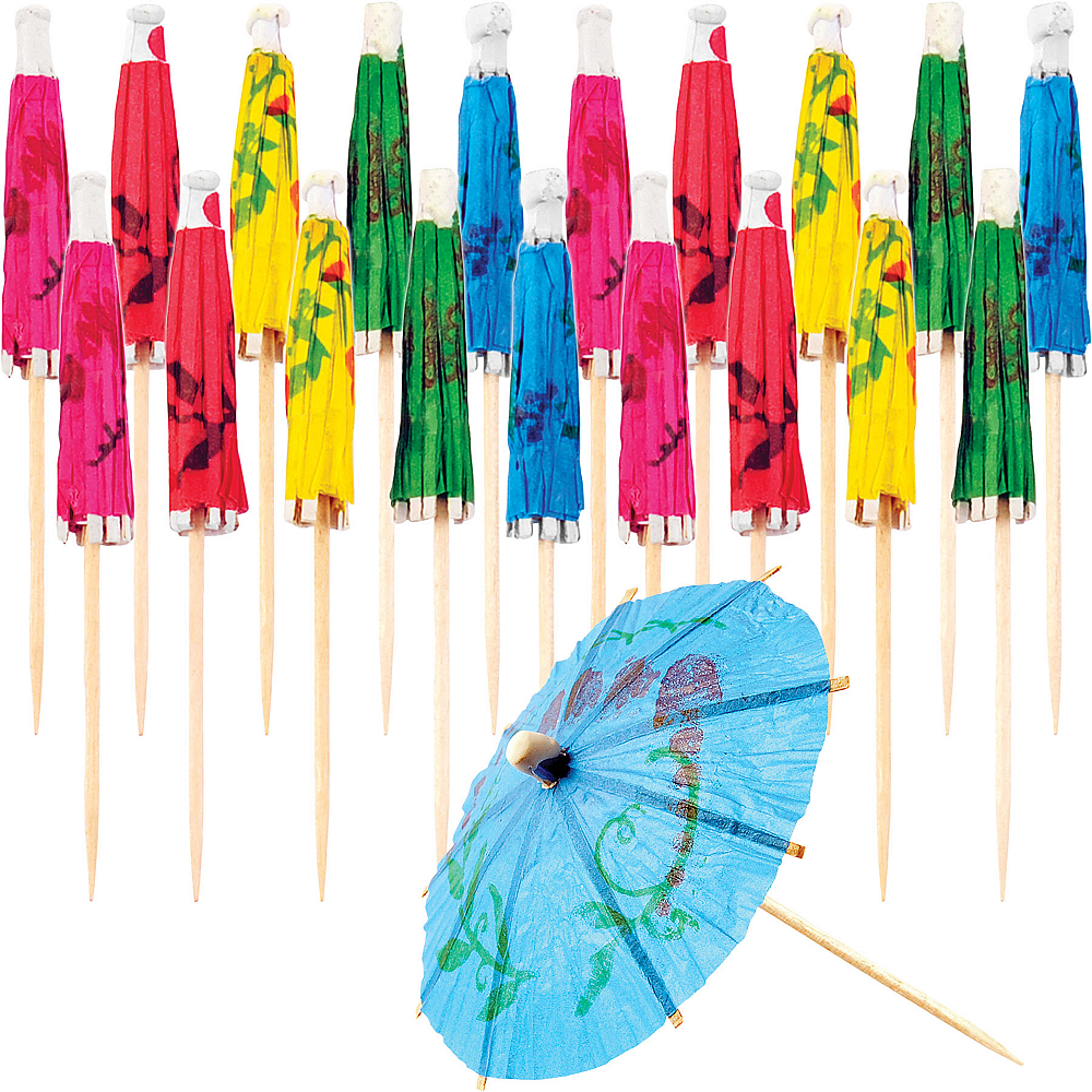 Cocktail Umbrella Picks 20ct Image #1