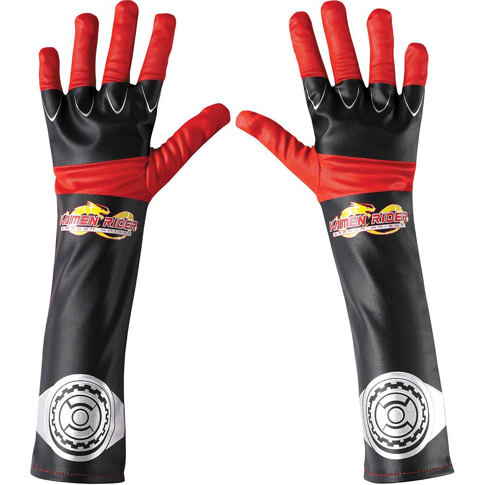 Child Kamen Rider Dragon Knight Gloves Image #1