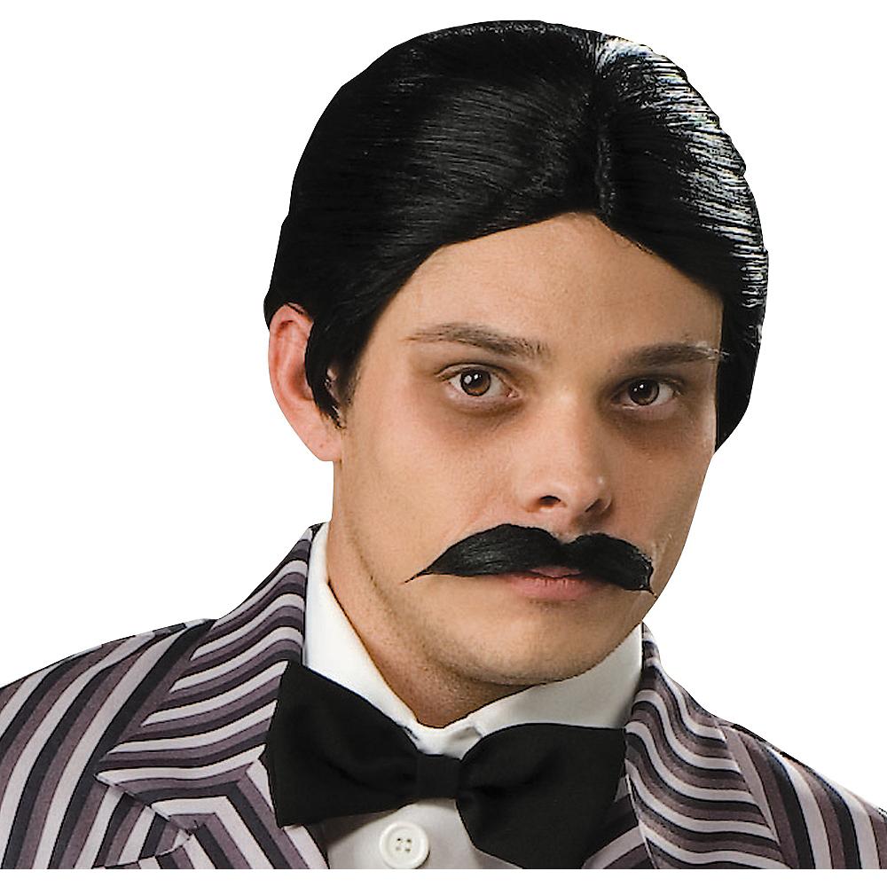 Gomez Addams Wig & Mustache Image #1