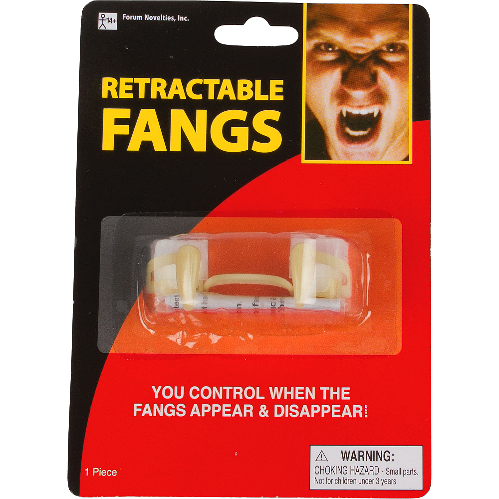 Retractable Vampire Fangs Image #3