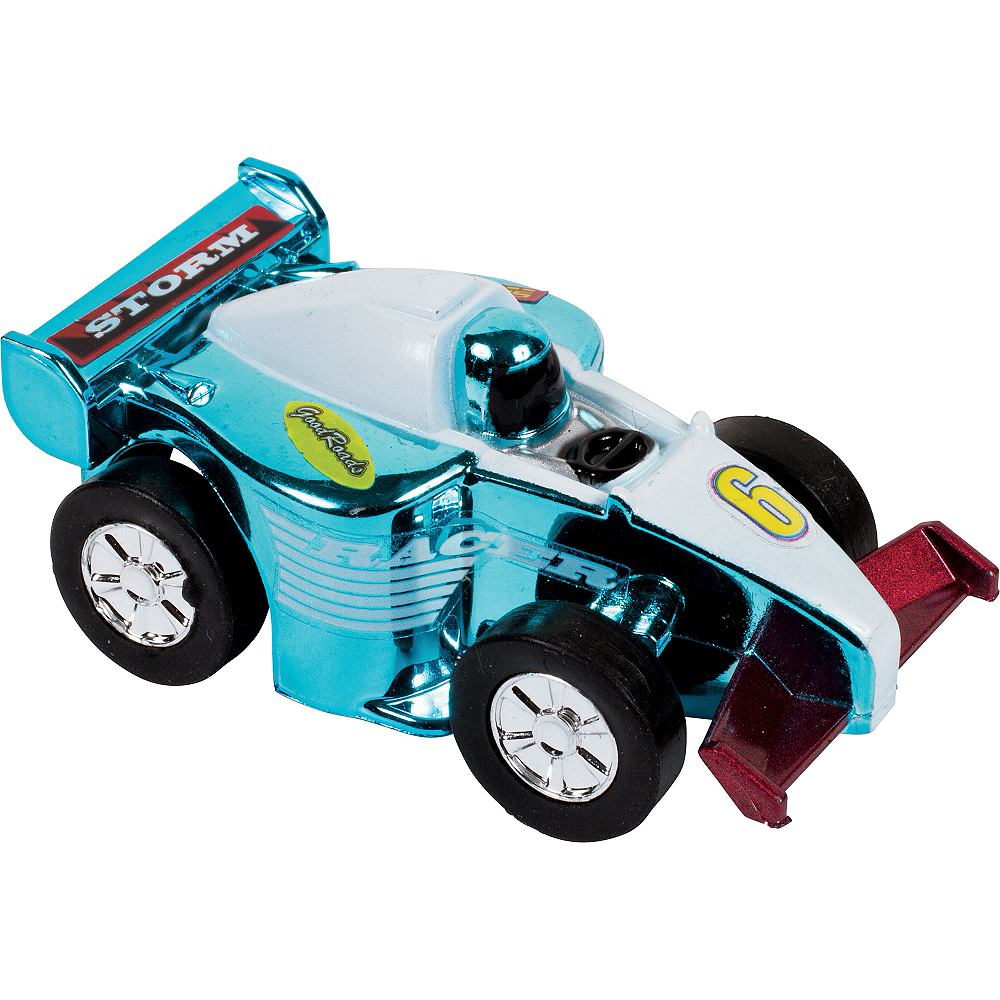 Pull Back Storm Racer Mini Stock Car Image #1