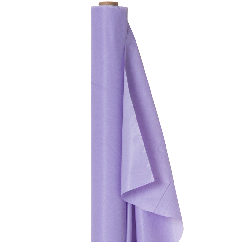 Lavender Plastic Table Cover Roll Image #1