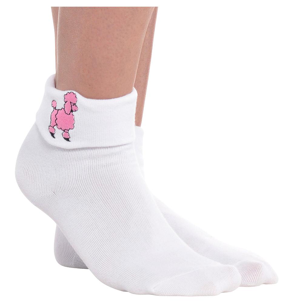Adult Poodle Socks Image #1