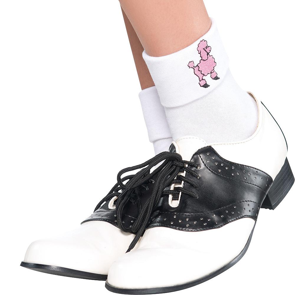 Adult Poodle Socks Image #2