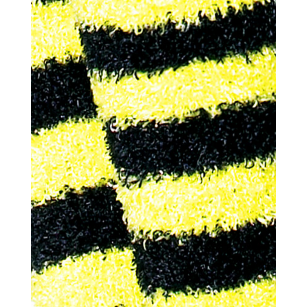 Adult Bumblebee Striped Leg Warmers Image #2