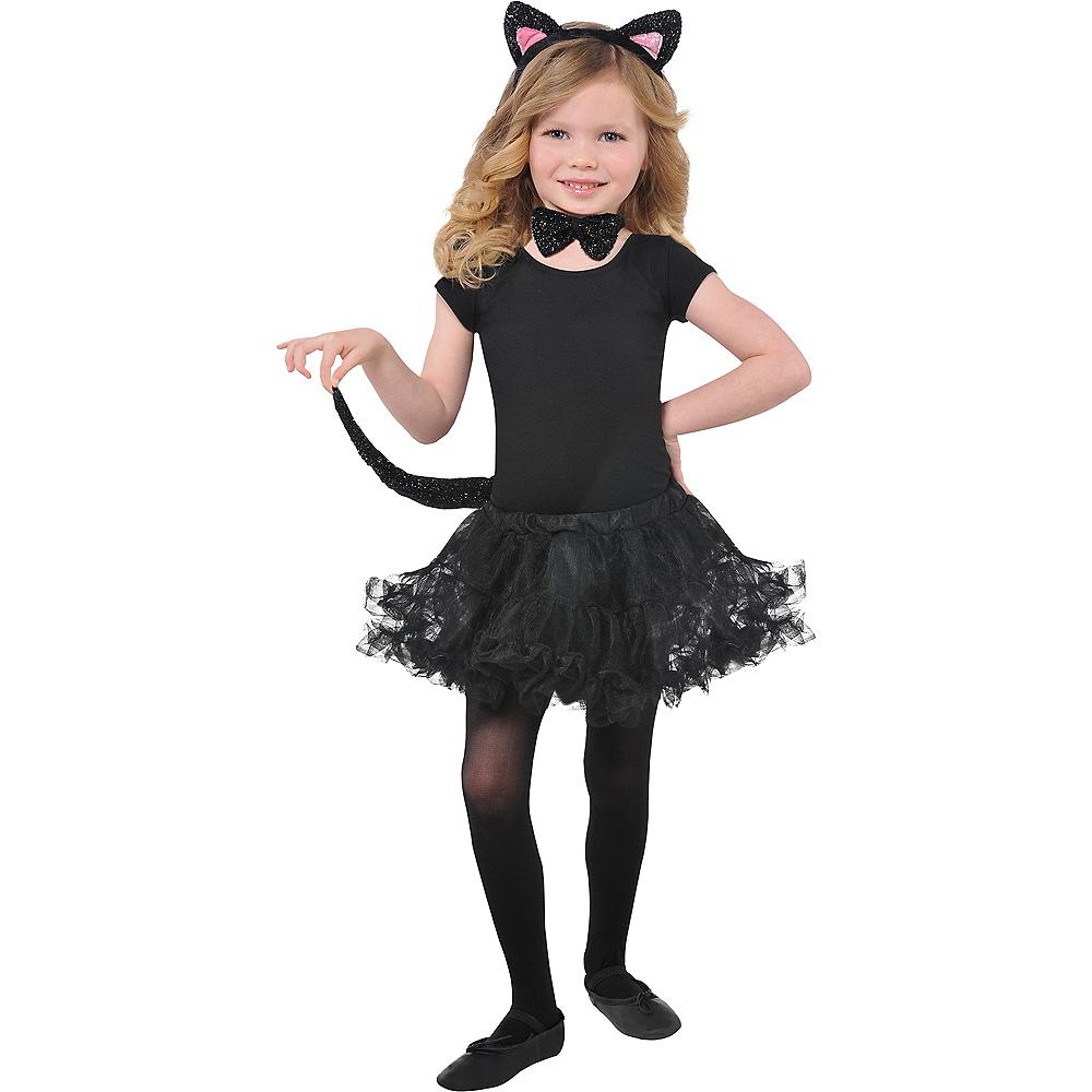 Child Glitter Cat Accessory Kit Image #1