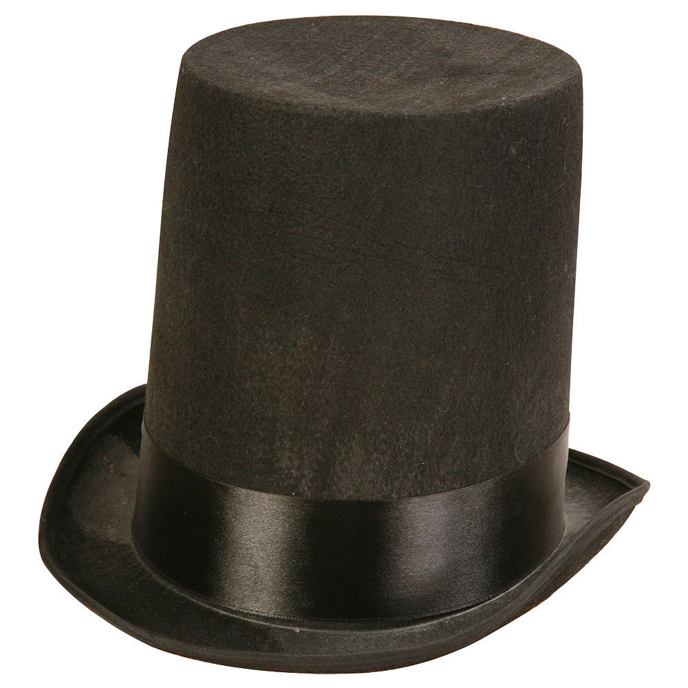 Nav Item for Black Stovepipe Hat Image #1