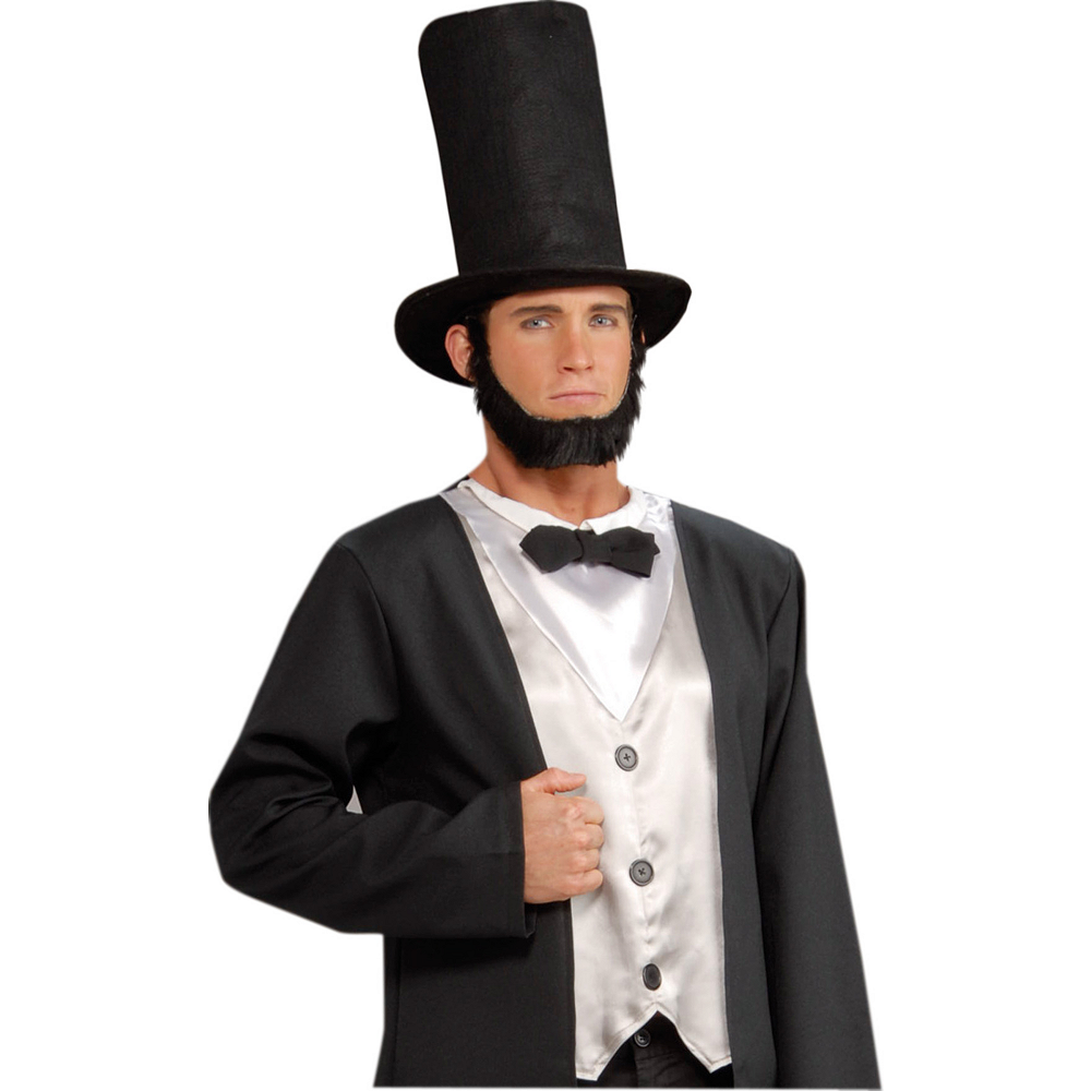 Nav Item for Black Stovepipe Hat Image #2