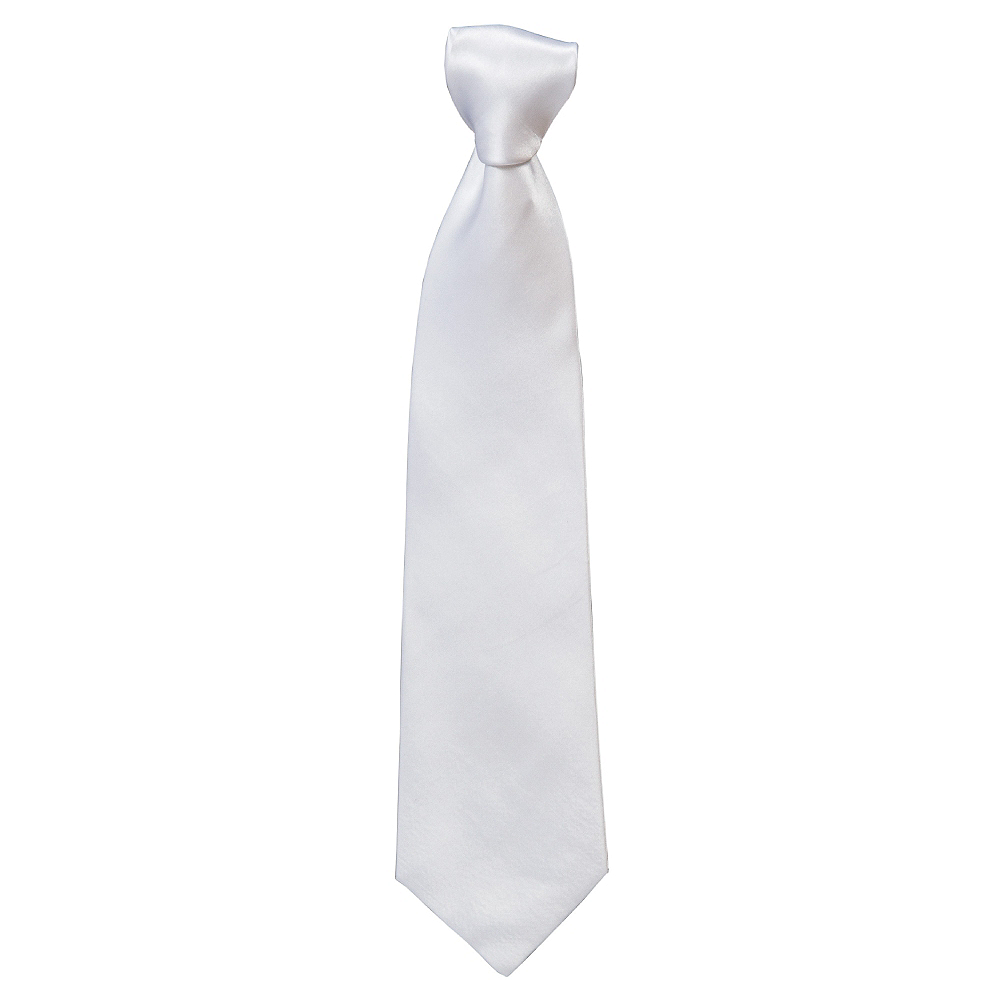 Gangster White Tie Image #1