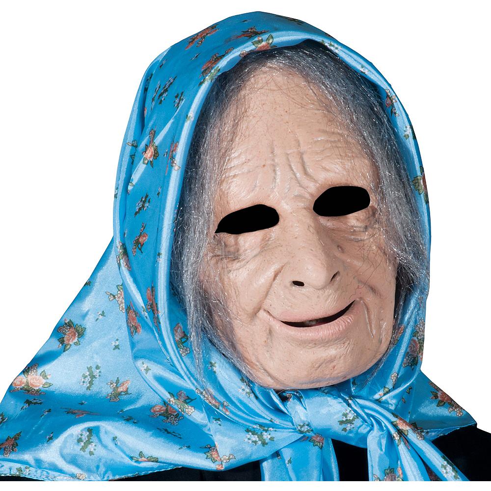 Latex Nana Old Lady Mask Image #1