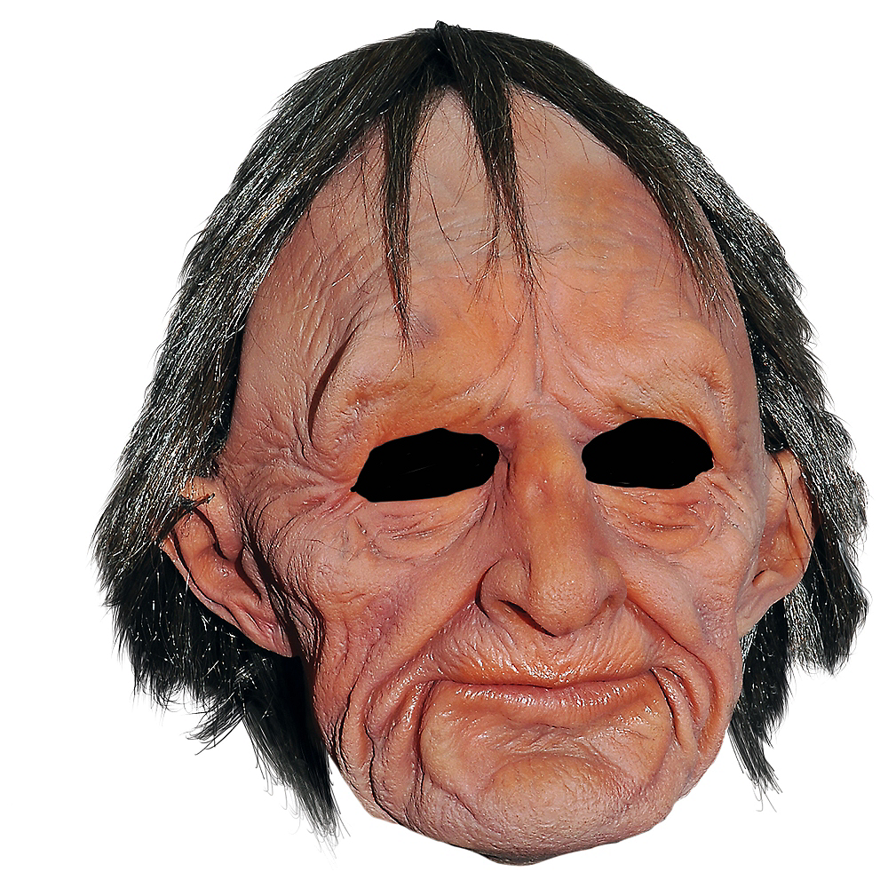 Old Man Mask Image #1