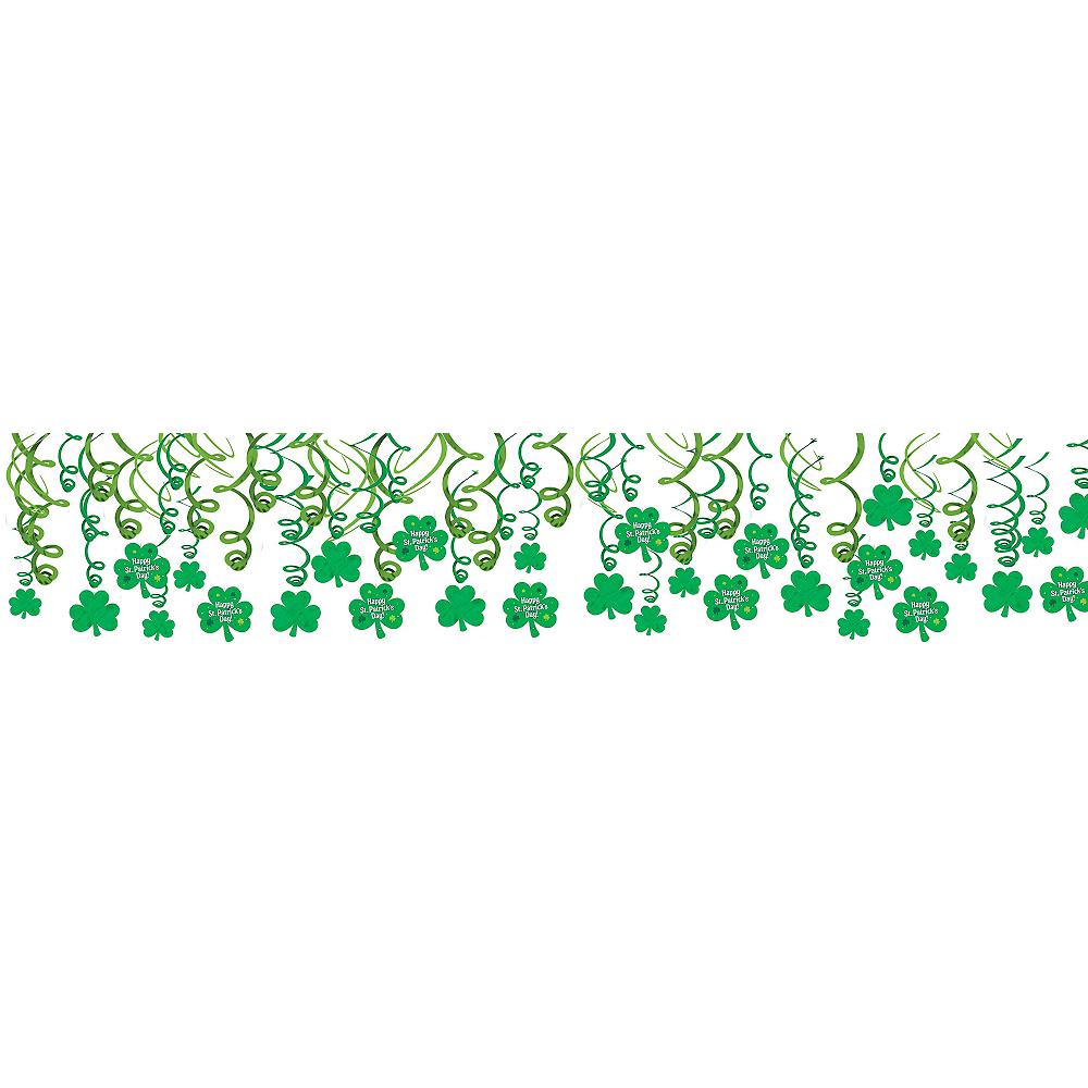 St. Patrick's Day Swirl Decorations 30ct Image #1