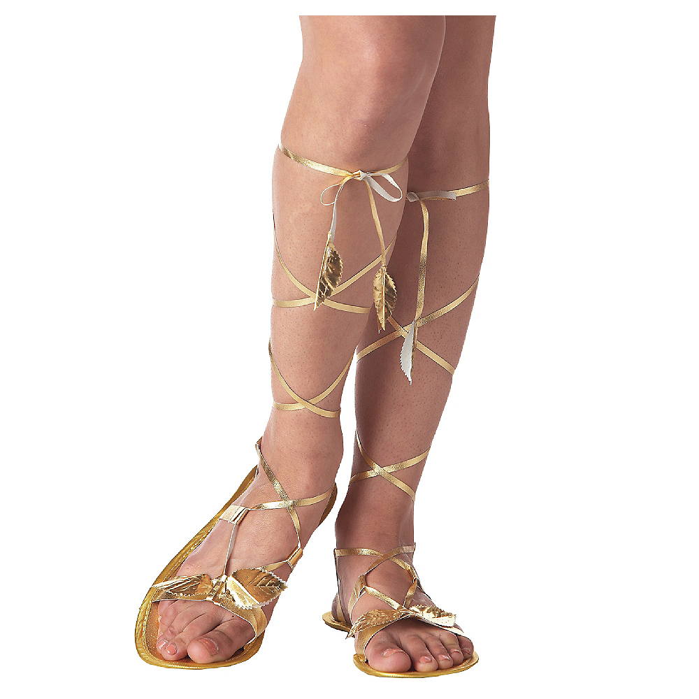 Gold Goddess Sandals Image #1