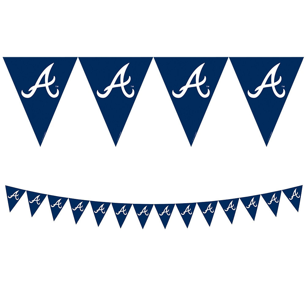Nav Item for Atlanta Braves Super Party Kit for 18 Guests Image #7