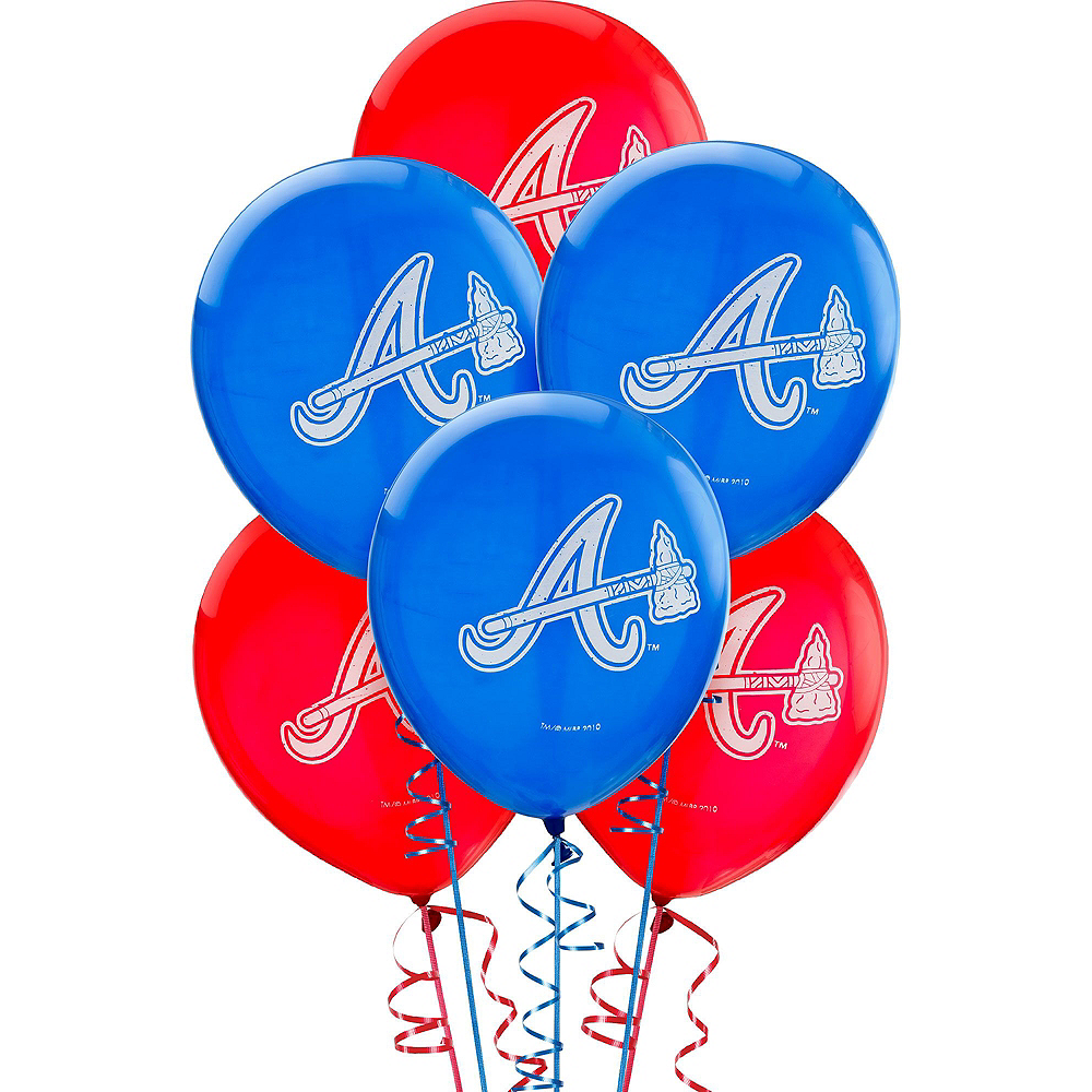 Atlanta Braves Super Party Kit for 18 Guests Image #8