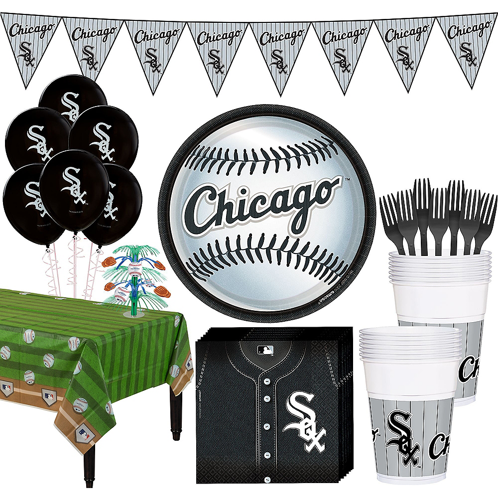 Chicago White Sox Super Party Kit for 18 Guests Image #1