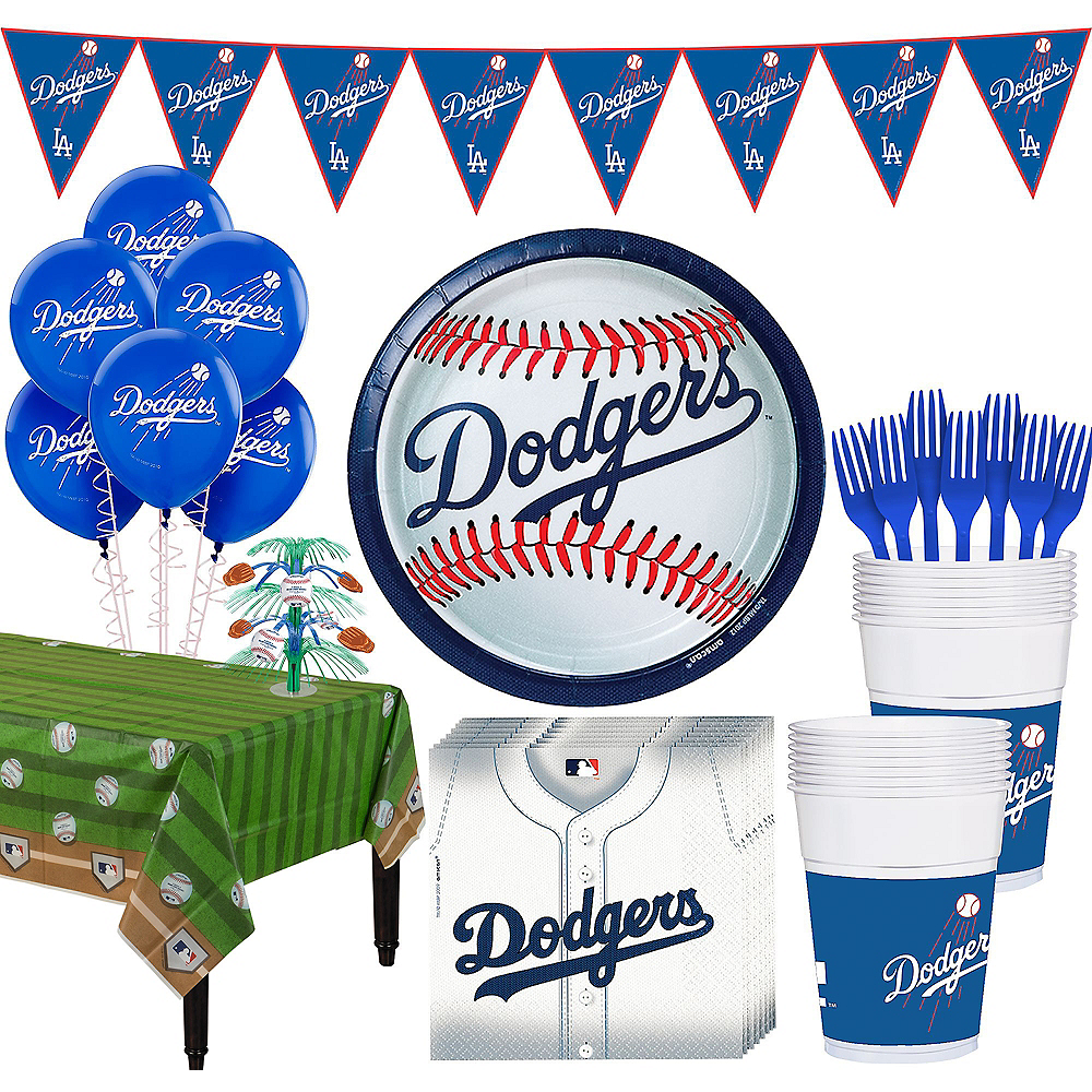 Super Los Angeles Dodgers Party Kit for 18 Guests Image #1
